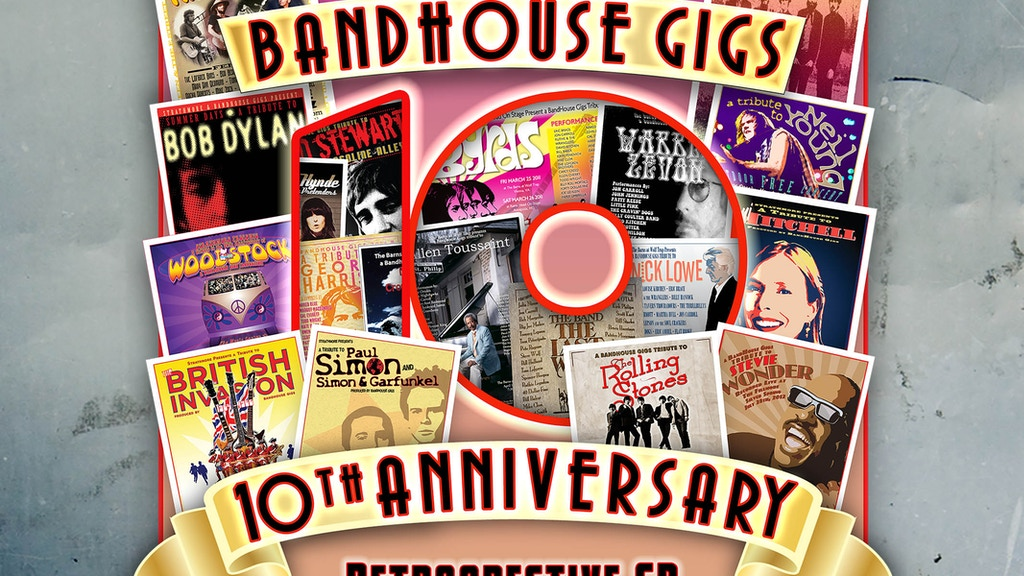 BandHouse Gigs Ten Year Retrospective CD project video thumbnail