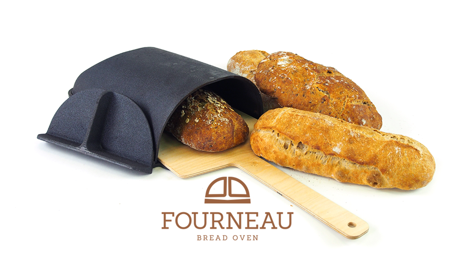 The ultimate tool to help you bake the most beautiful and most delicious loaf of bread at home. Patent Pending.