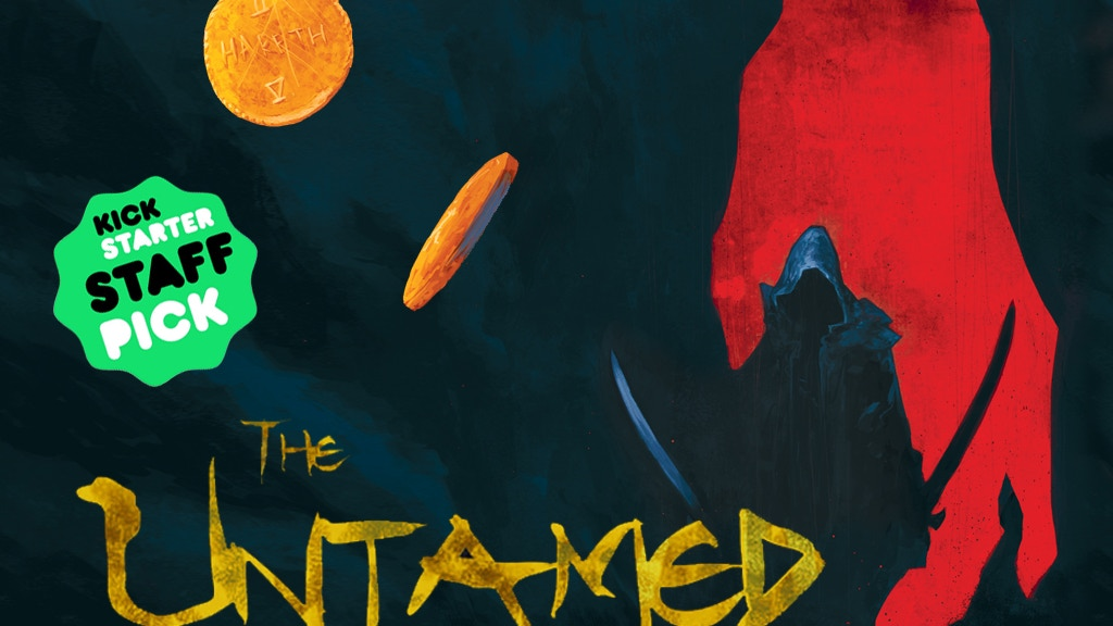 THE UNTAMED: A Sinner's Prayer Hardcover Graphic Novel project video thumbnail