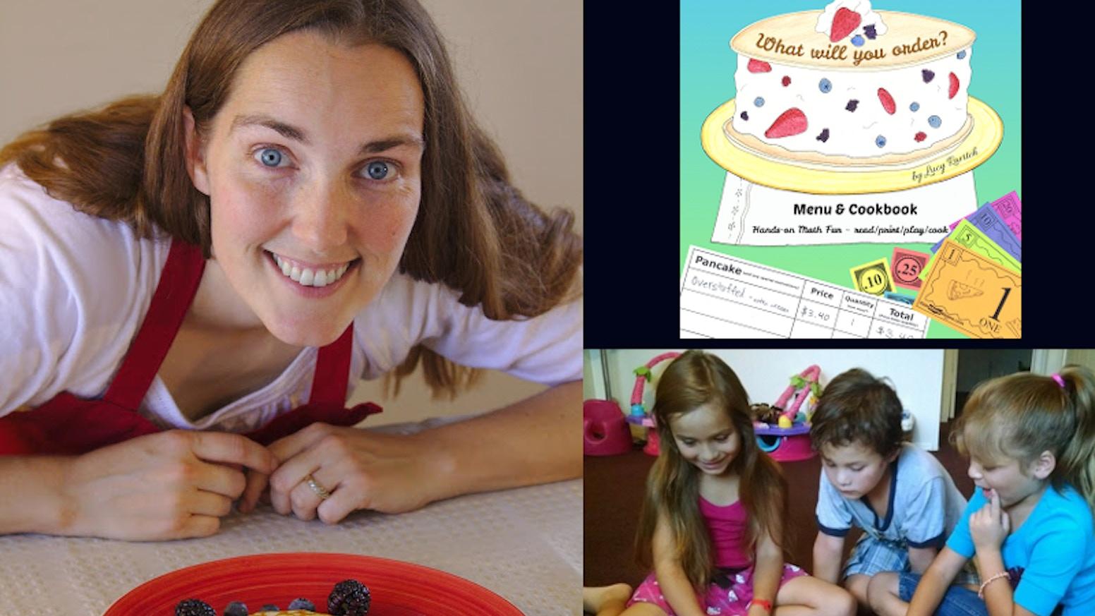 Kids 6-11 read, play restaurant & practice math w/ Menu Money & Order Sheets! Fun & educational! Recipes included! #ThePancakeMenu
