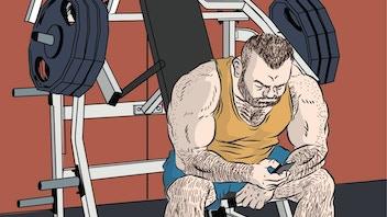 SHIRTLIFTER #5  - New Gay Comic from Steve MacIsaac