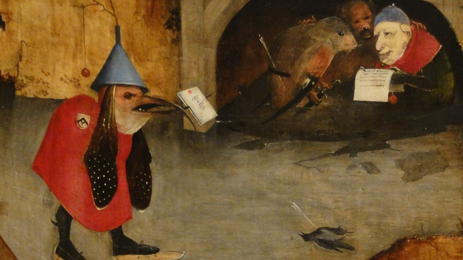 An Animated Show That Uses The Paintings Of Hieronymus Bosch To Tell Story Bat