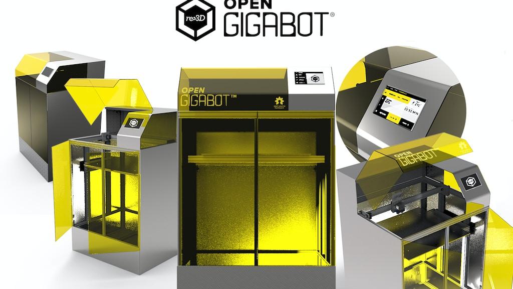 Open Gigabot : An Open Source, Gigabot 3D Printer Experiment project video thumbnail