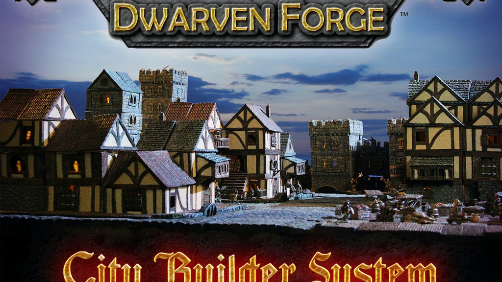 Dwarven Forge's Modular City Builder Terrain System project video thumbnail