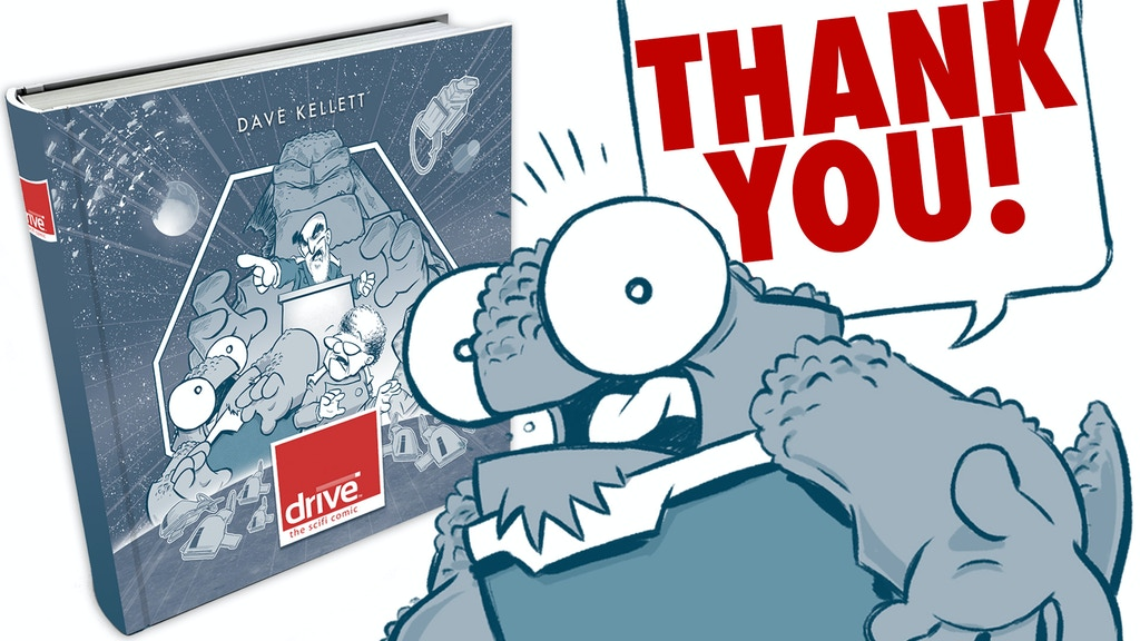 Drive Hardcover project video thumbnail