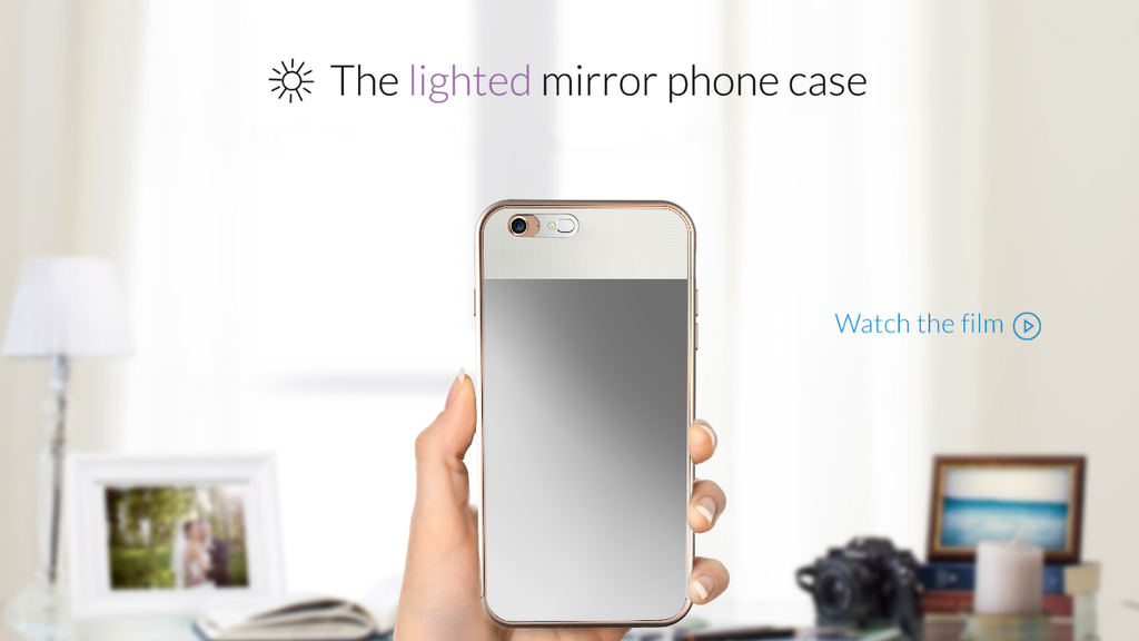 The Lighted Mirror Phone Case project video thumbnail