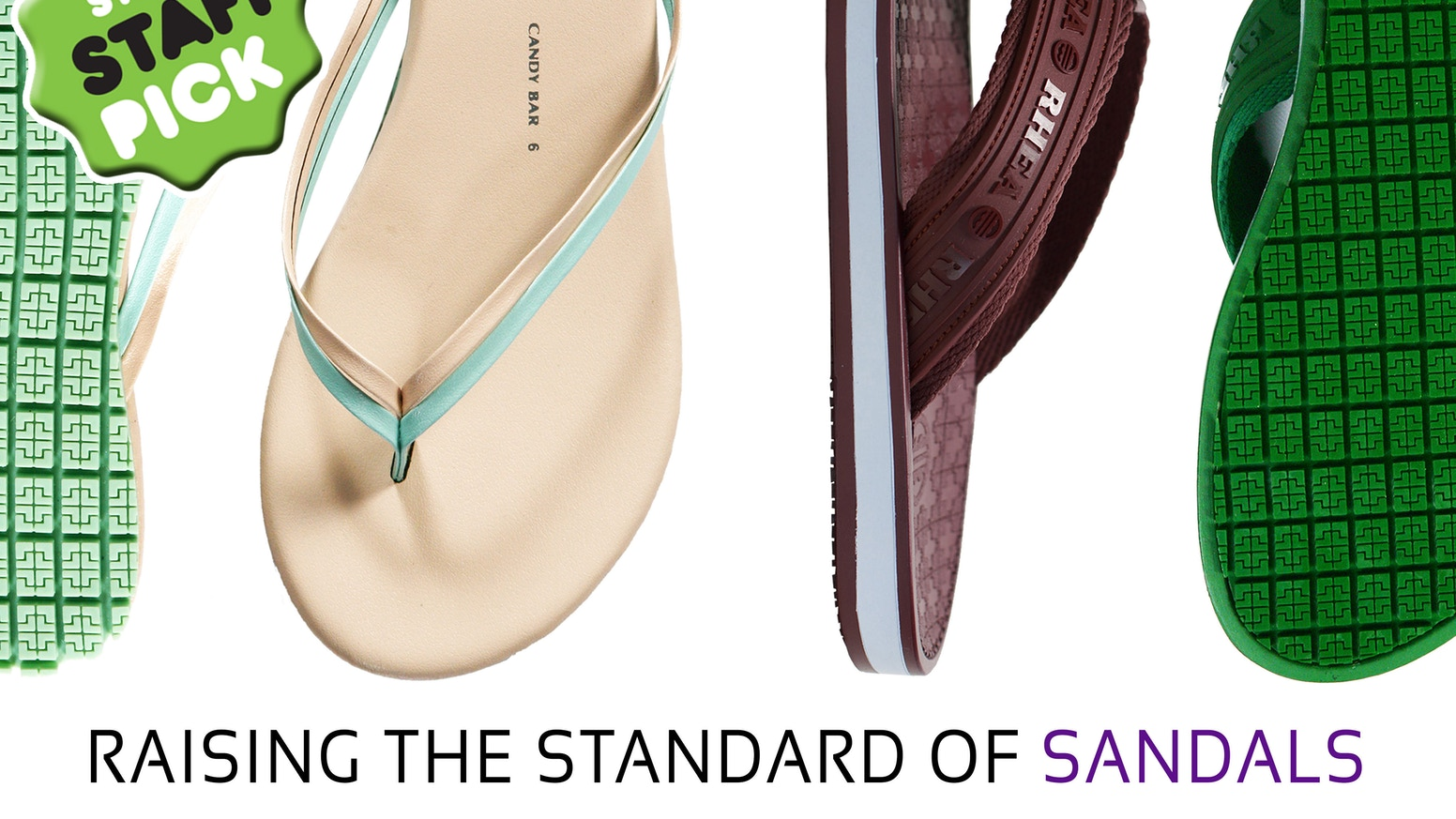 Technology meets sandals. Rhea Footwear is launching its line of sandals, integrating unsurpassed technology with innovative design.
