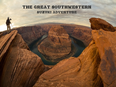 The Great Southwestern Suzuki Adventure By Joseph