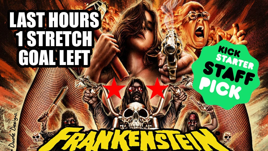 Frankenstein Created Bikers : A 35mm Feature Film project video thumbnail