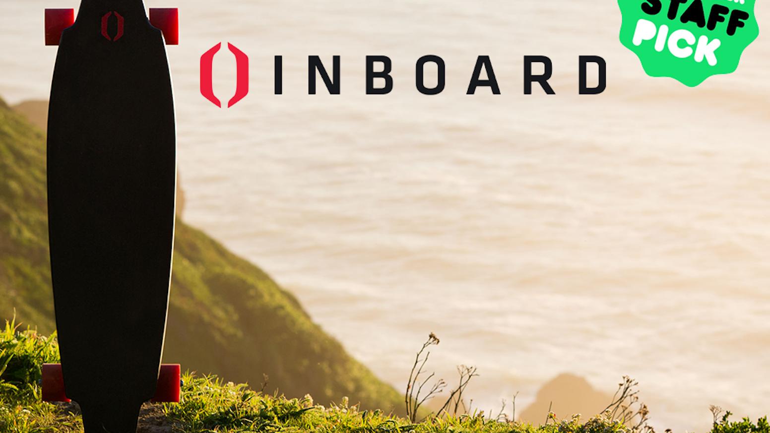 Inboard Shark Tank >> Inboard World S First Skateboard With In Wheel Motors By