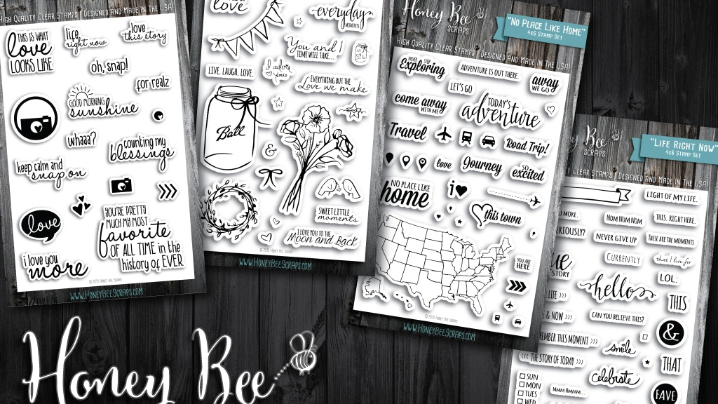 high quality clear stamps for paper crafting made in usa