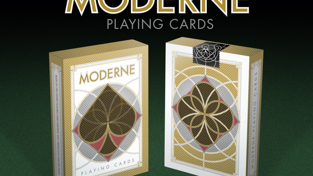 Project image for Moderne Playing Cards