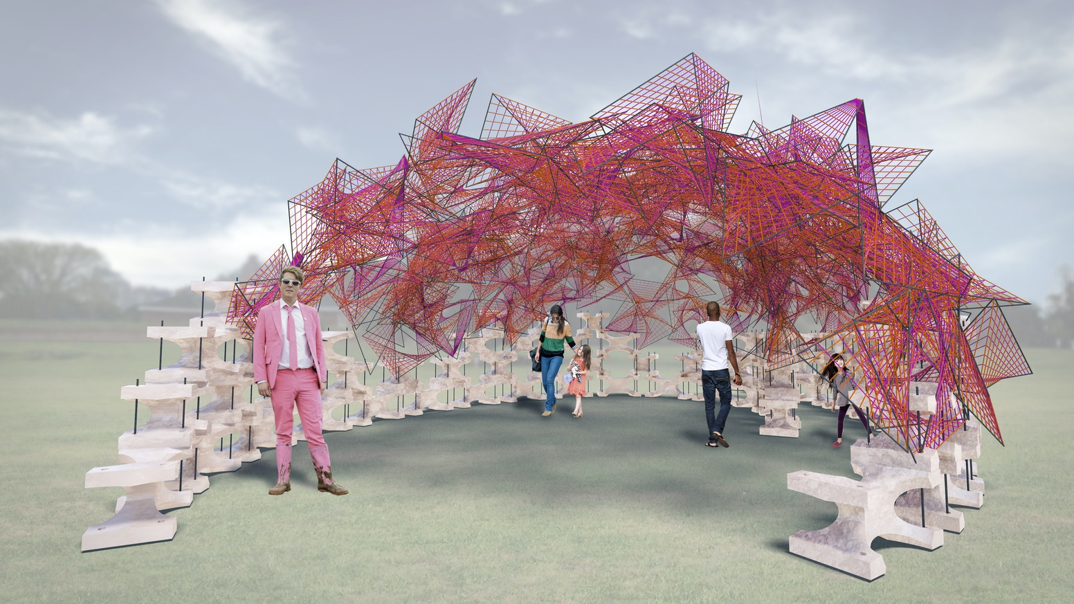 An Installation on Governor's Island for Summer 2015, that will become a Permanent Contribution to NY Harbor as Oyster Reef.
