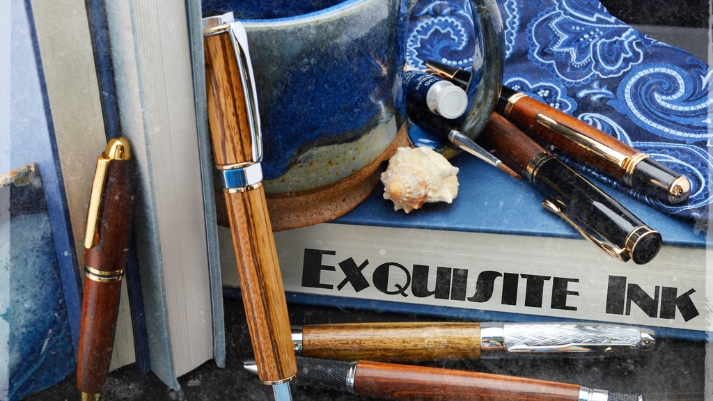 Exquisite Ink: Fine Handcrafted Wood Pens project video thumbnail