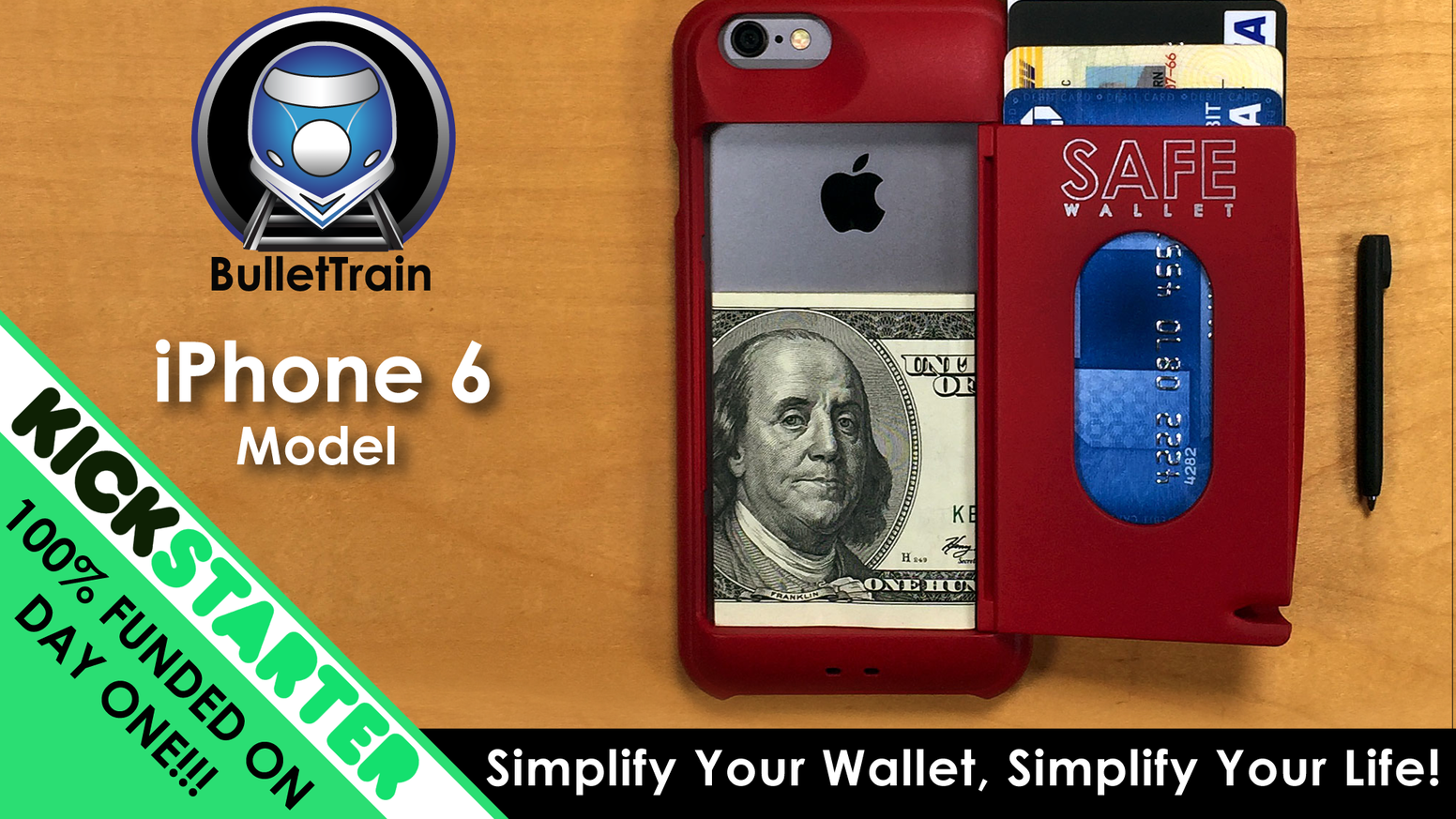 Safe wallet case for iphone 6 simplify your everyday carry for Sf contact nackenkissen small