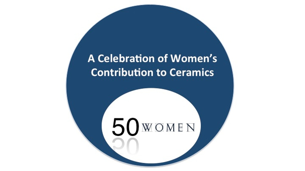 50 Women-A Celebration of Women's Contribution to Ceramics project video thumbnail