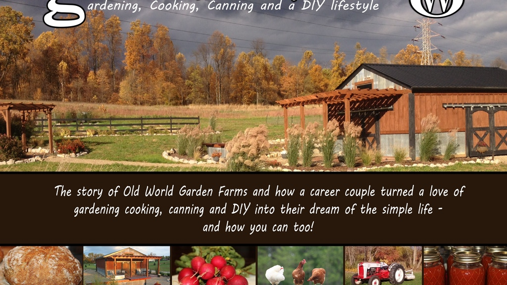 Growing Simple - The Old World Garden Book & Tour Project project video thumbnail