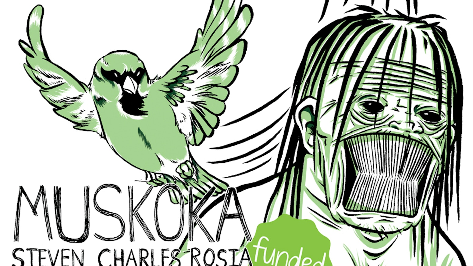 The discovery of a new tribe of people sparks a field study that is doomed before it has even begun. Muskoka - a mature comic.