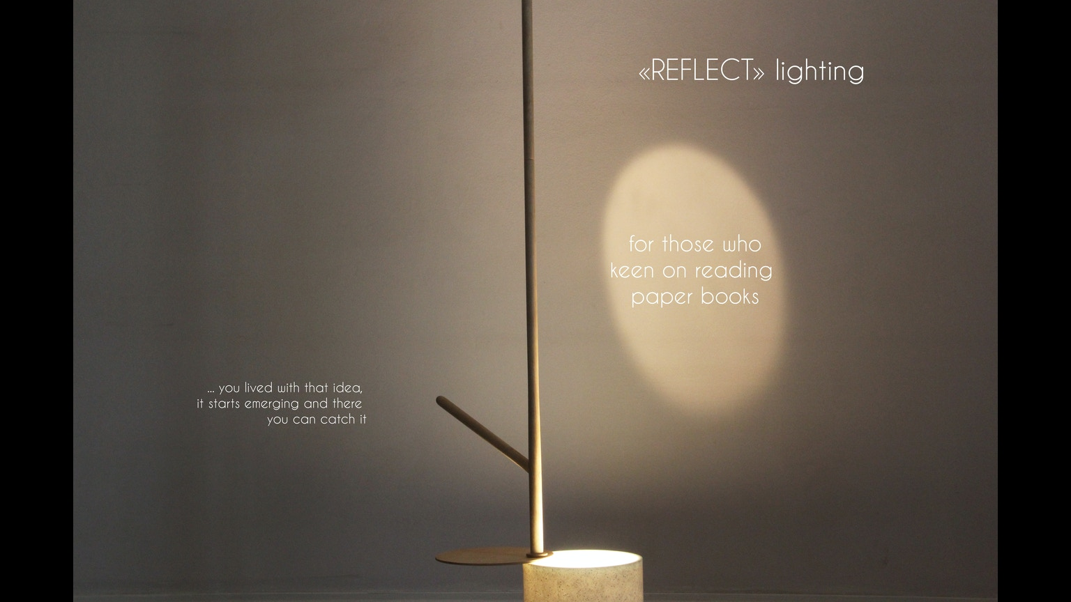 Floor lamp reflect by anastassiya leonova and nisa for Floor 6 reloaded menu