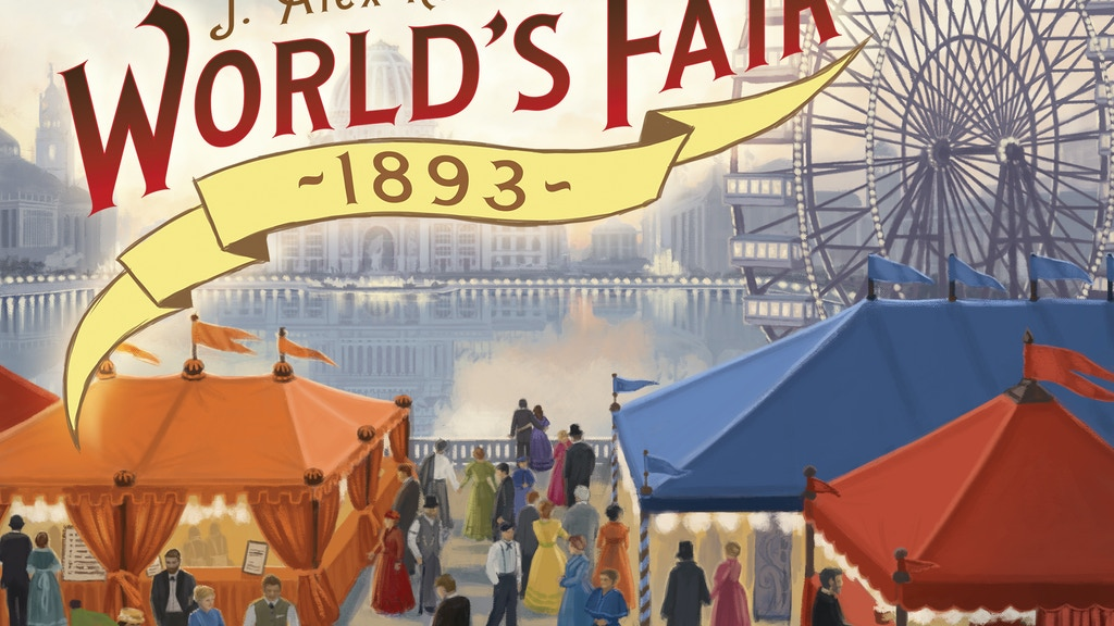 World's Fair 1893 - Board Game project video thumbnail