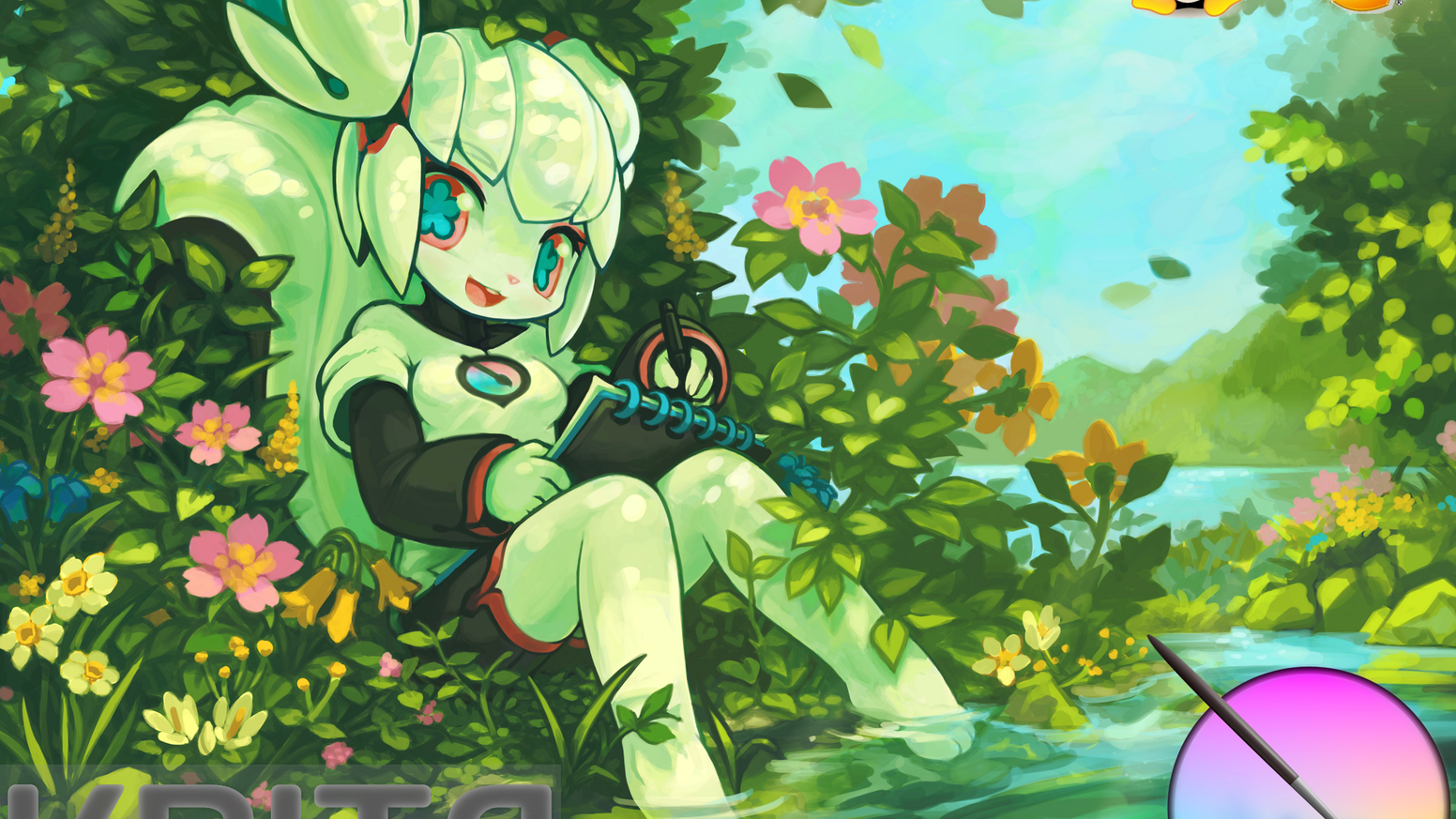 Krita is the free and open source digital painting program used by artists all over the world. Help make Krita even faster and better!