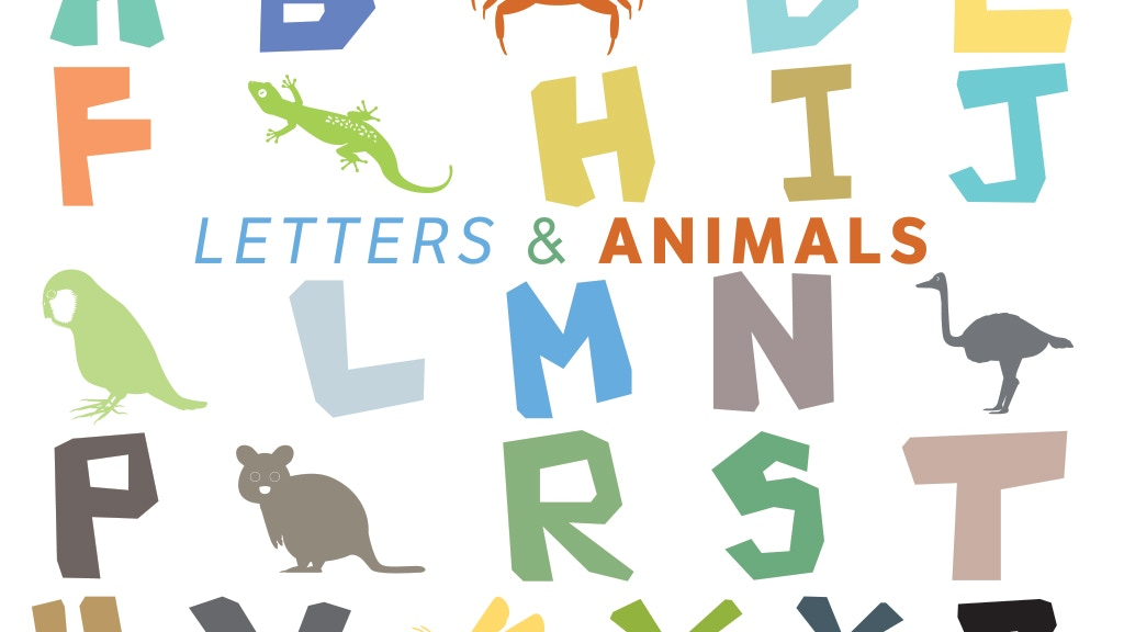 Letters & Animals - Alphabet Learning Cards for Kids project video thumbnail