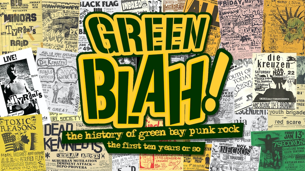 Green Blah! The History of Green Bay Punk Rock. project video thumbnail