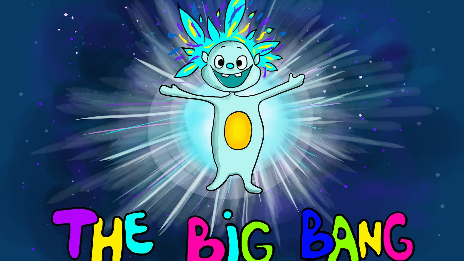Help me print and publish the first in a rhyming children's book series that tackles human origins starting with the Big Bang!
