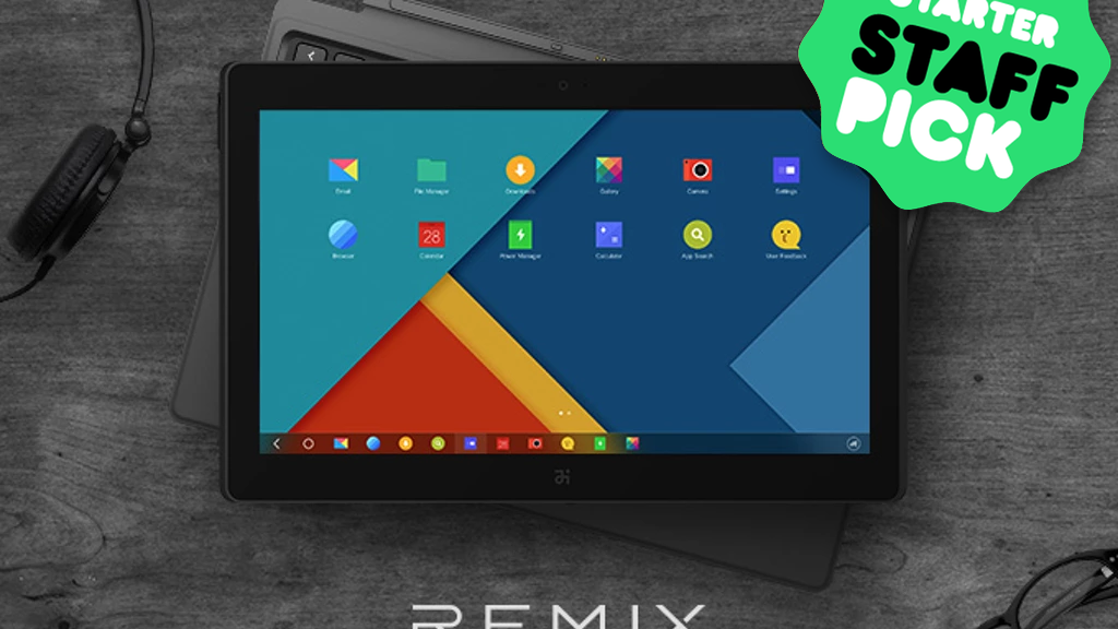 Remix a laptop experience on a big android tablet by jide tech remix a laptop experience on a big android tablet project video thumbnail urtaz Images
