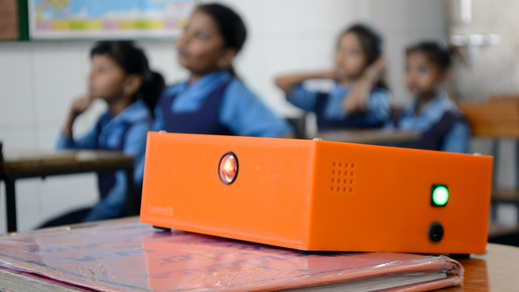 The Bright Orange Box: Connecting Classrooms project video thumbnail
