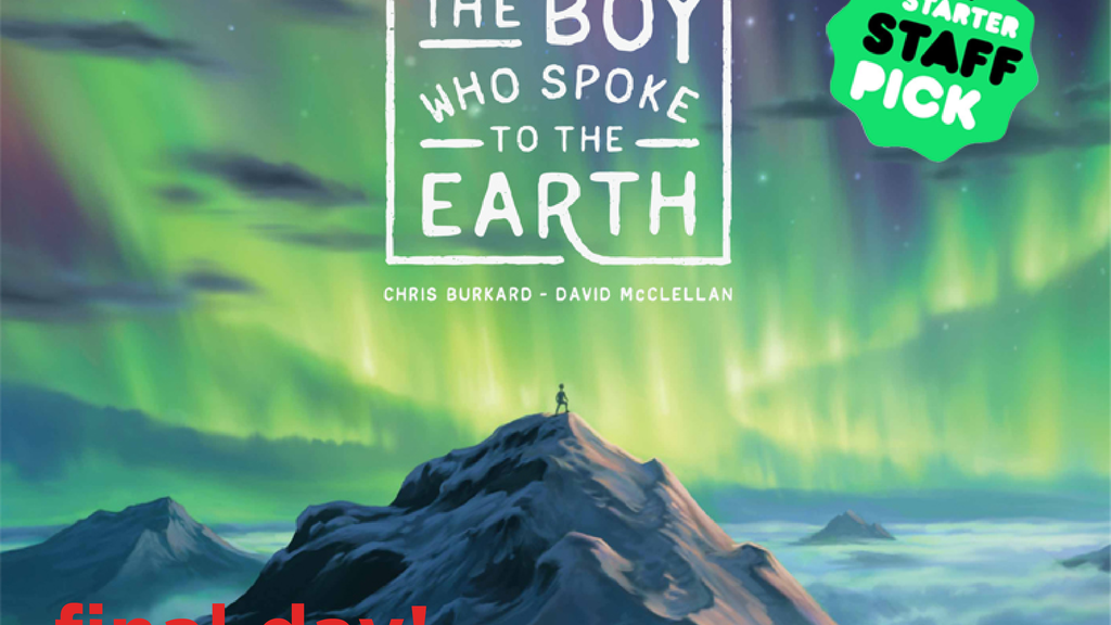 The Boy Who Spoke to the Earth - a Children's Book project video thumbnail