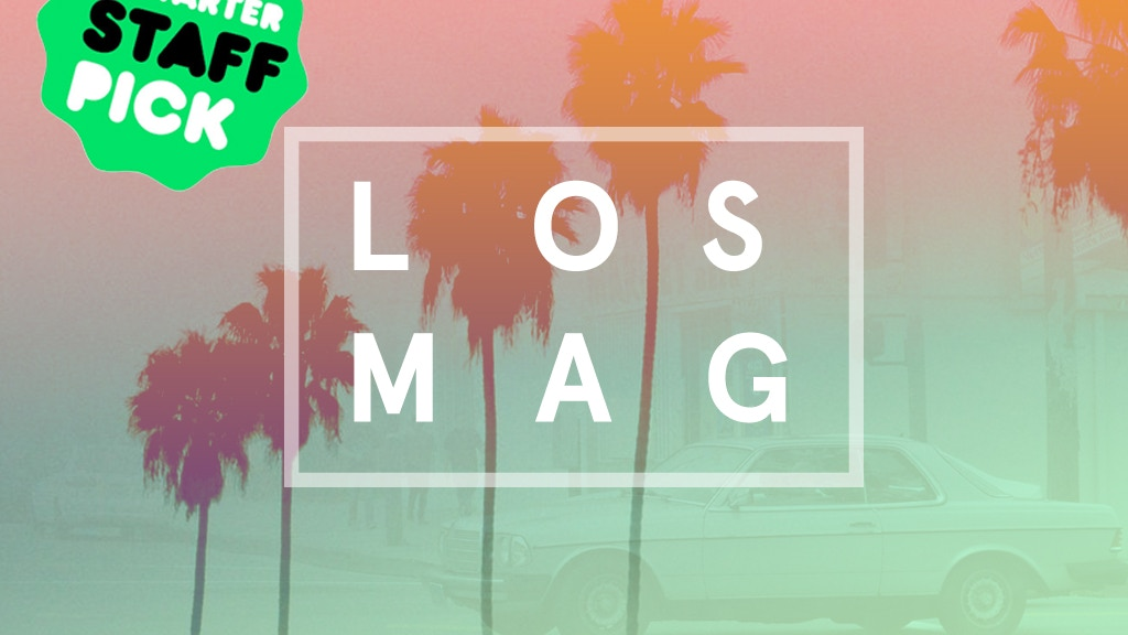 Los Mag | Los Angeles Graphic Design Magazine project video thumbnail
