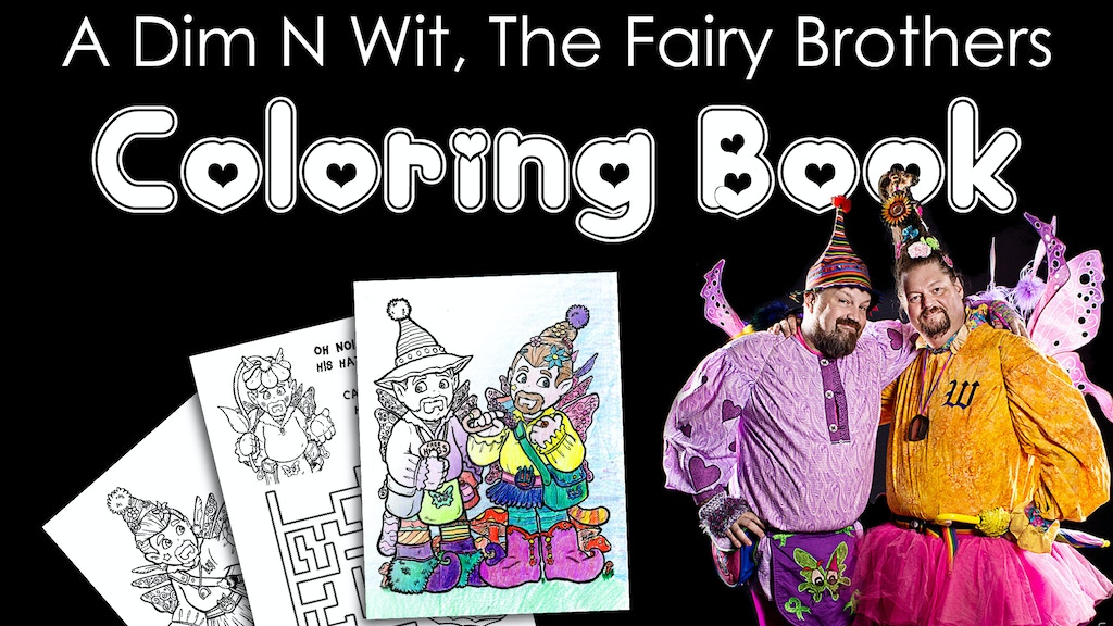 Dim N Wit Coloring/Activity Book project video thumbnail