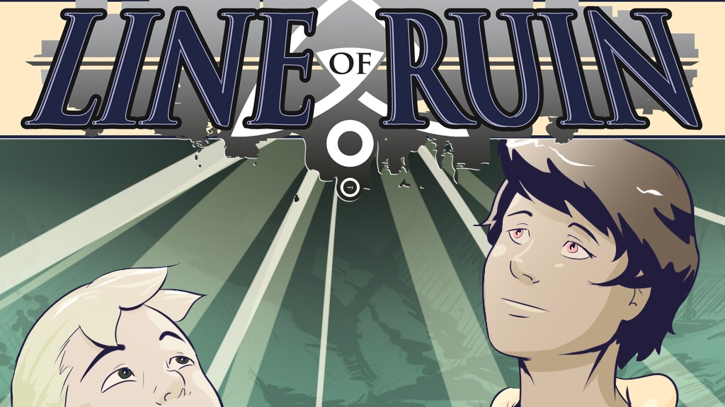 Line of Ruin : A Graphic Novel project video thumbnail