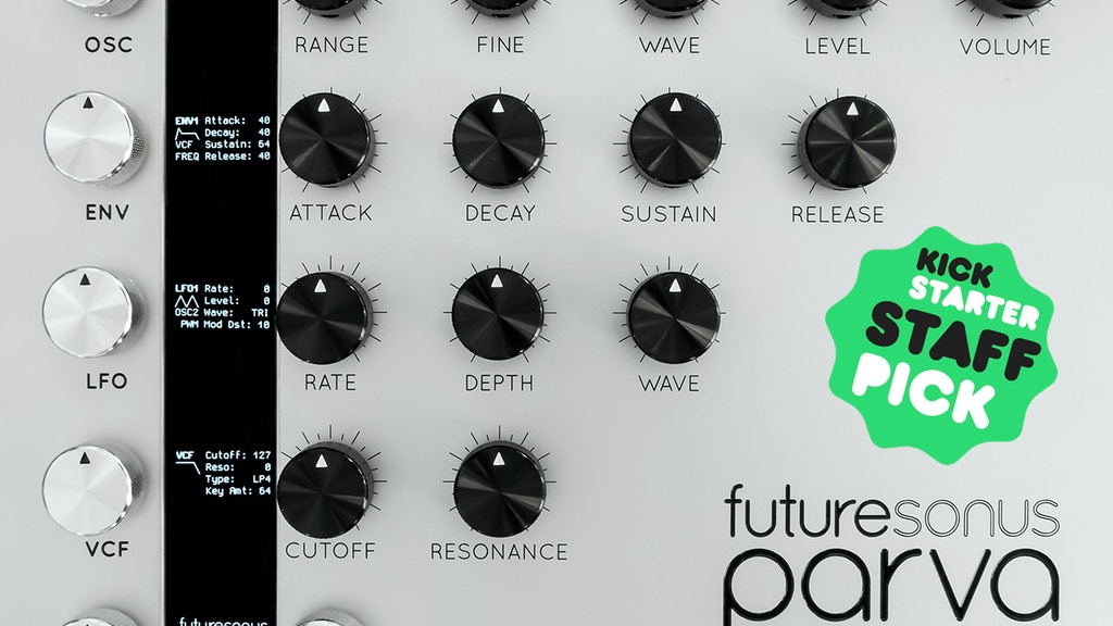 Parva Polyphonic Analog Synthesizer project video thumbnail