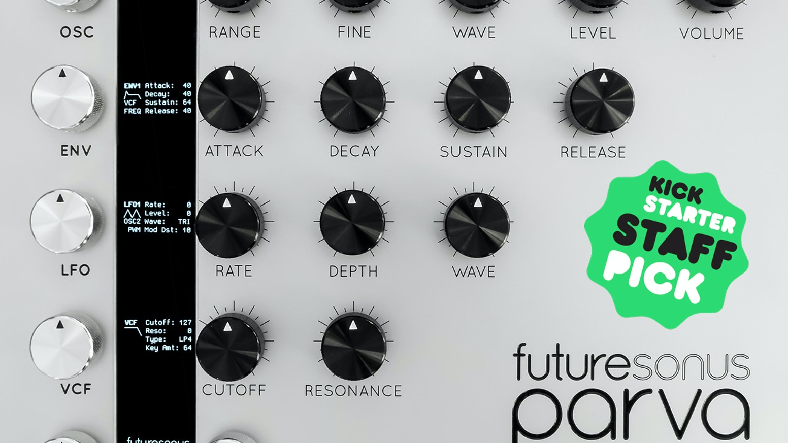 Introducing a revolutionary new synthesizer combining the classic warmth of analog synthesis with the convenience of digital control.