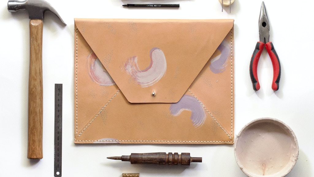 Epoché : Leather Accessories that Fuse Fine Art with Fashion project video thumbnail