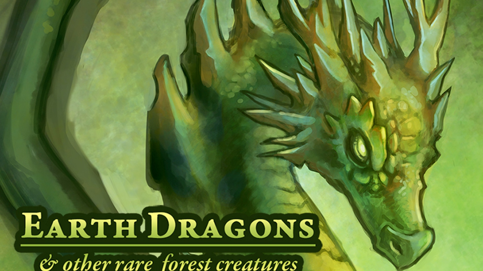 Earth Dragon: Earth Dragons & Other Rare Creatures: Playing Cards