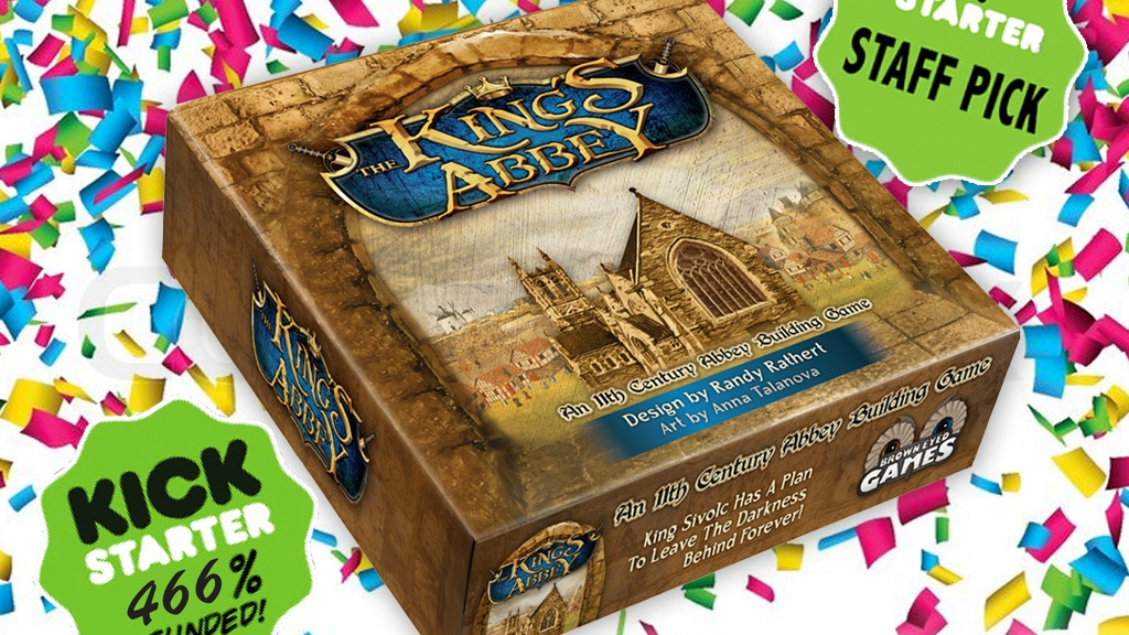 The King's Abbey: A Strategic Abbey Building Game project video thumbnail