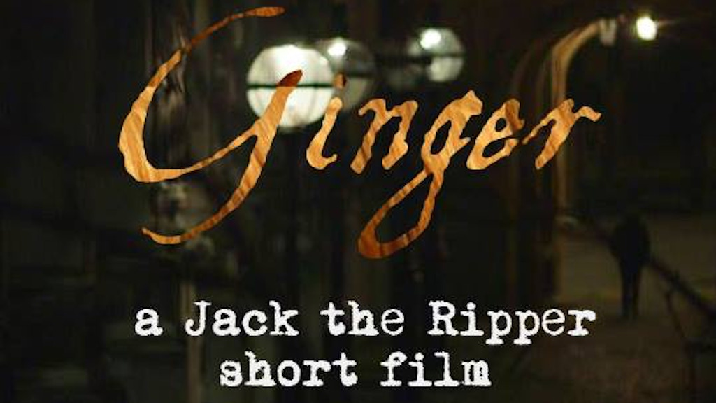 GINGER - A Jack the Ripper short film project video thumbnail
