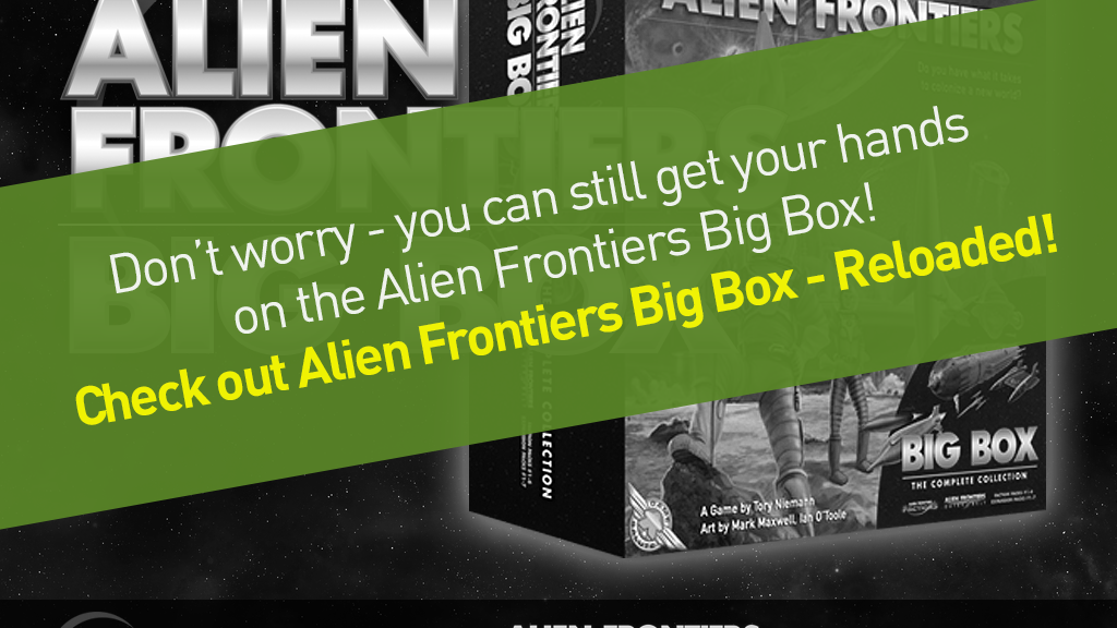 Project image for Alien Frontiers Big Box (Canceled)