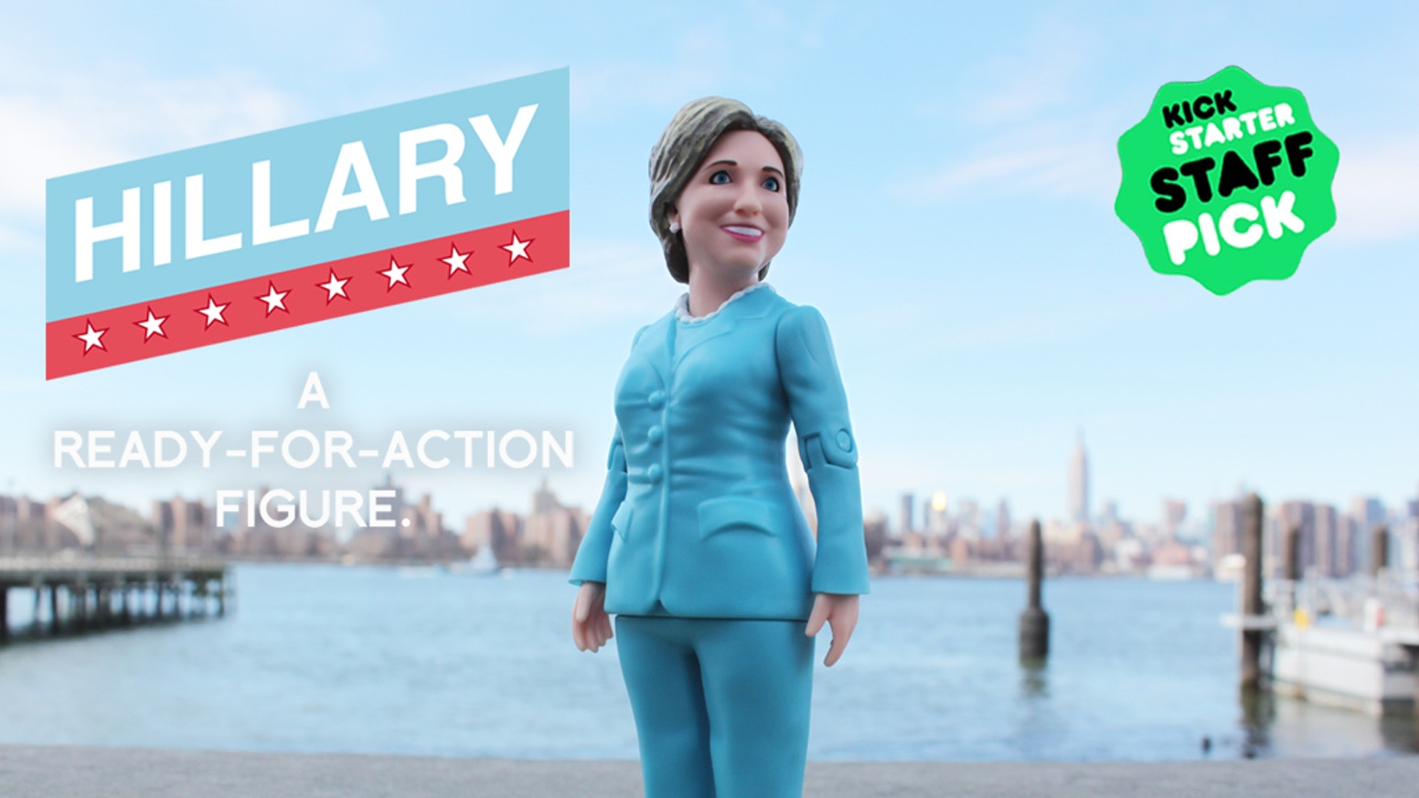 Hillary Clinton has been made into an action figure.