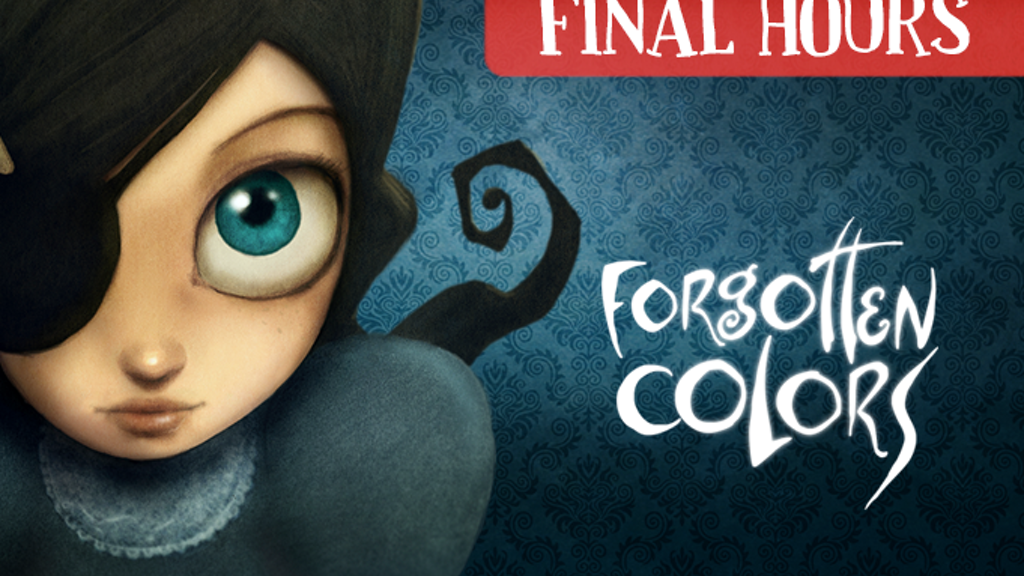 Forgotten Colors - A limited edition art book for all ages. project video thumbnail