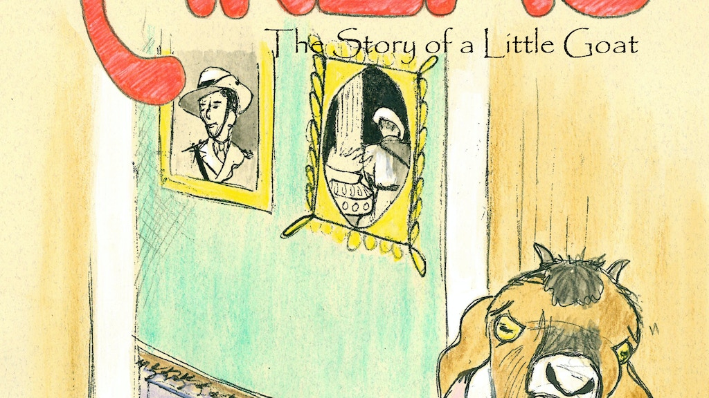Anzac - The story of a Little Goat (children's book) project video thumbnail