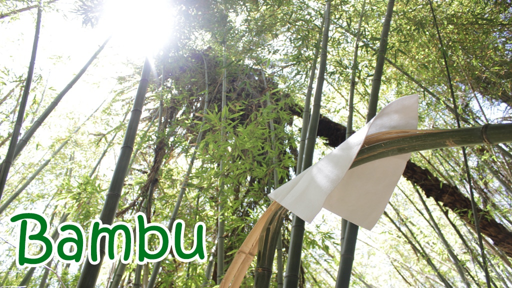 BAMBU - 100% All natural bamboo fiber cloth project video thumbnail