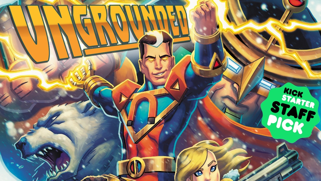 Ungrounded: The First Revolution Graphic Novel project video thumbnail