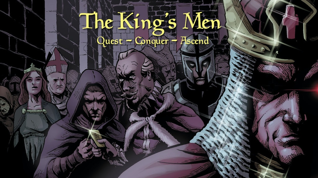 The King's Men game. The new game of kings. project video thumbnail