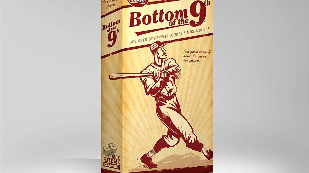 Bottom of the 9th: A Dice & Card Game of Classic Baseball project video thumbnail