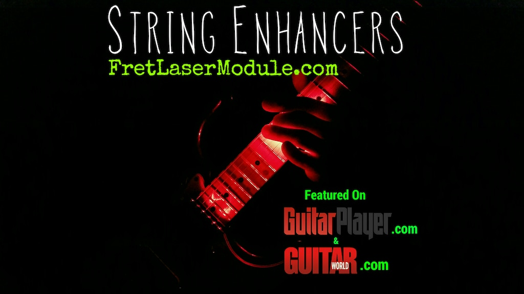 Fret Laser Module! - Pro Quality Guitar Lighting project video thumbnail