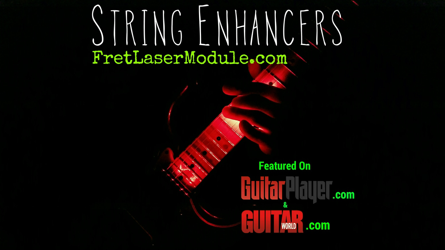 Original Fret Laser Module - Visual FX for Guitars and more!